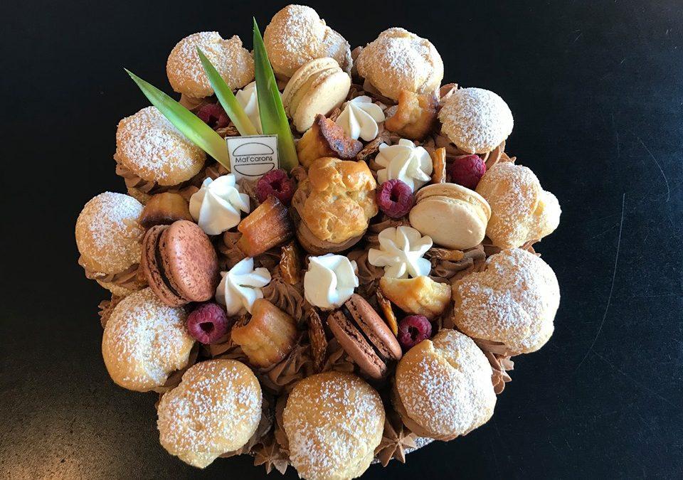 Le Saint Honoré façon Number cake par Mat'carons