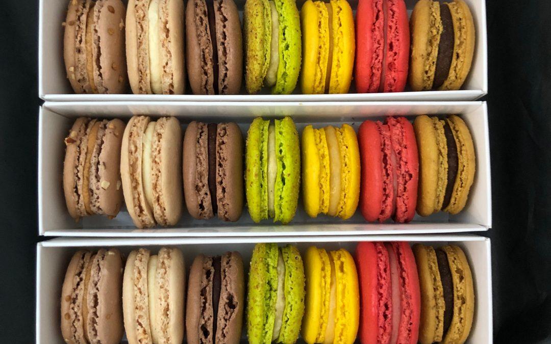 Atelier Macarons Framboise et Vanille de Madagascar