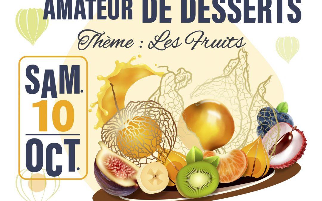 5ème Concours régional de desserts amateur
