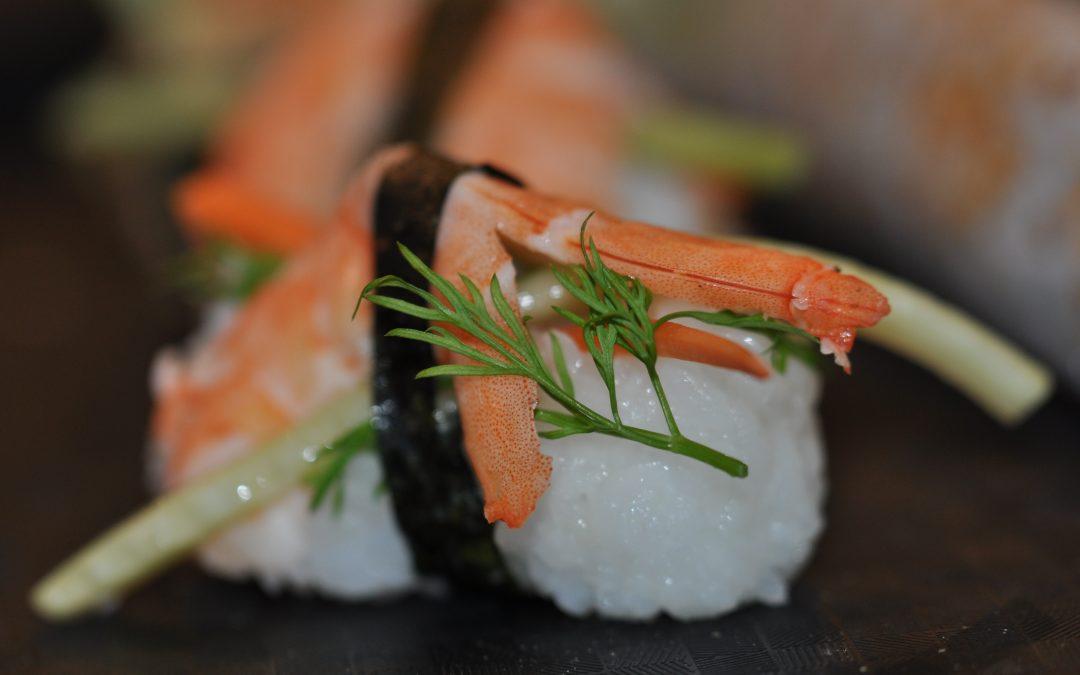 Atelier autour du monde  sushis- Makis-Onigiris